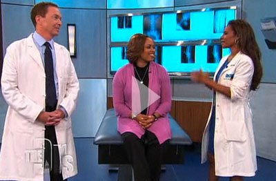 Dr. Bruce McLucas - The Doctors - Uterine Fibroid Embolization Explained