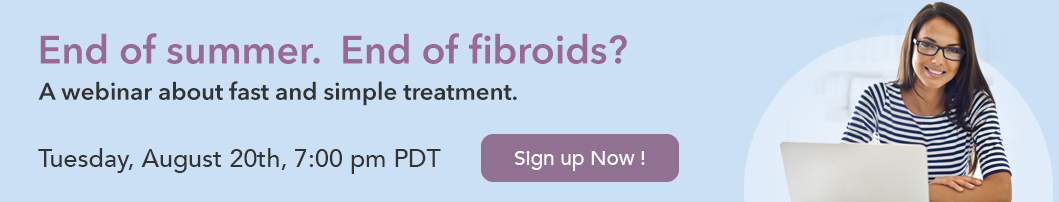 Join fibroid expert Bruce McLucas M.D. and patients who stopped fibroids without surgery